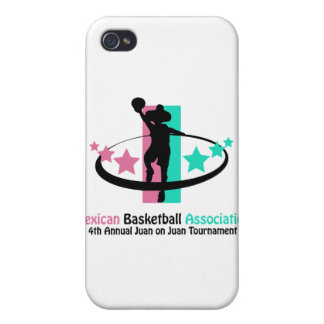 Mexican Basketball Association Case For iPhone 4
