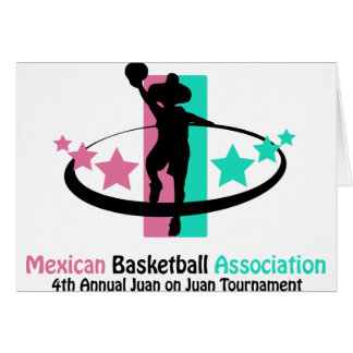 Mexican Basketball Association Greeting Card