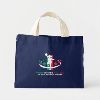 Mexican Basketball Association Mini Tote Bag