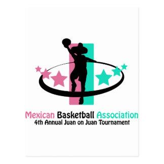 Mexican Basketball Association Postcard