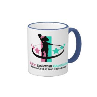 Mexican Basketball Association Ringer Mug