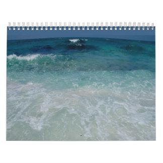 Mexican Beach tie Calendar