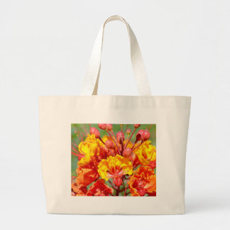 Mexican Bird of Paradise Large Tote Bag