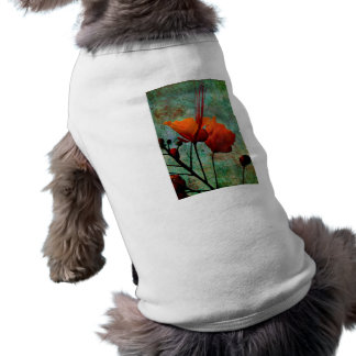 MEXICAN BIRD OF PARADISE SLEEVELESS DOG SHIRT