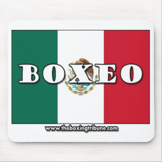 Mexican Boxing/Boxeo Mousepad