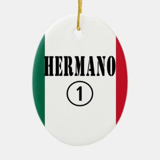Mexican Brothers Hermano Numero Uno Ornament