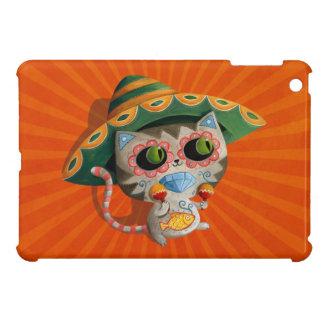 Mexican Cat with Sombrero iPad Mini Covers