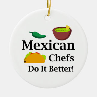 MEXICAN CHEFS CERAMIC ORNAMENT