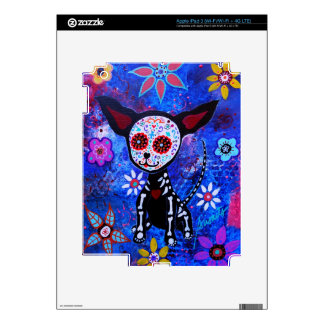 MEXICAN CHIHUAHUA   DAY OF THE DEAD IPAD SKIN