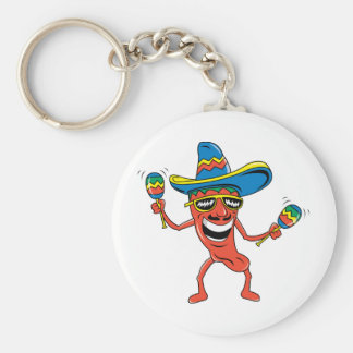 Mexican Chili Pepper Key Ring