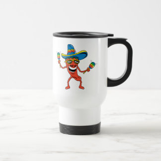 Mexican Chili Pepper Travel Mug