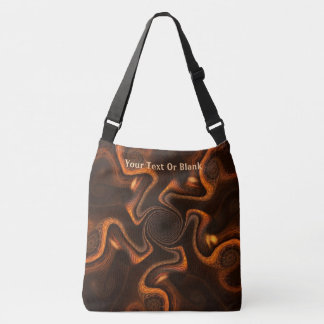 Mexican Chocolate Swirl Crossbody Bag
