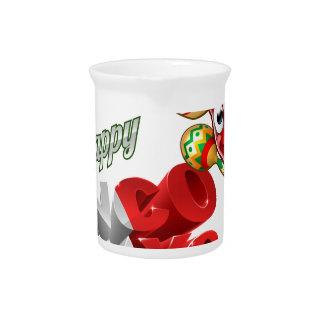 Mexican Cinco De Mayo Chilli Pepper Design Pitcher