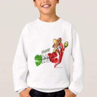 Mexican Cinco De Mayo Chilli Pepper Design Sweatshirt