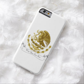 Mexican coat of arms barely there iPhone 6 case
