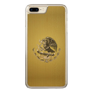 Mexican coat of arms carved iPhone 8 plus/7 plus case