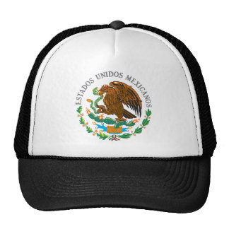 Mexican Coat of Arms Mesh Hats