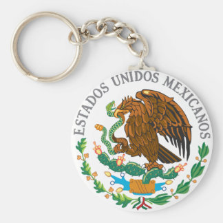 Mexican Coat of Arms Key Ring