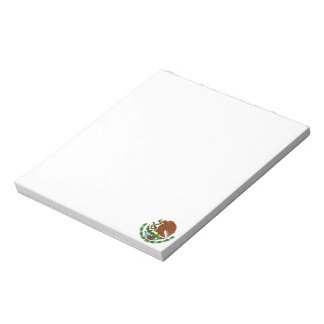 Mexican Coat of arms Notepad