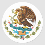 Mexican coat of arms sticker