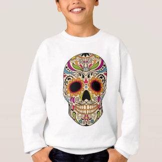 Mexican color skull sweatshirt