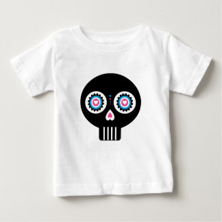 Mexican Day of the Dead 'Dia de Muertos' Skull Baby T-Shirt