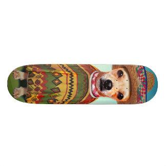 Mexican dog ,chihuahua 20.6 cm skateboard deck