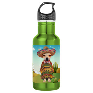Mexican dog ,chihuahua 532 ml water bottle