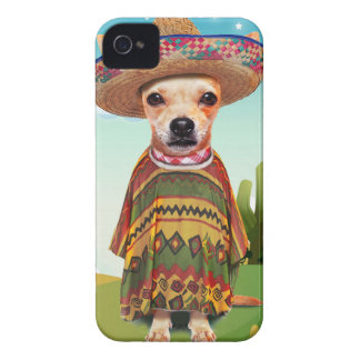 Mexican dog ,chihuahua iPhone 4 cases