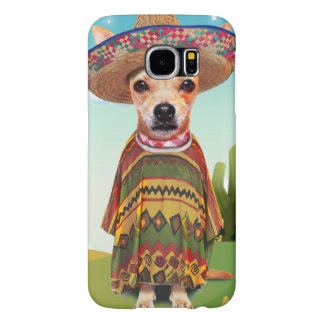 Mexican dog ,chihuahua samsung galaxy s6 cases
