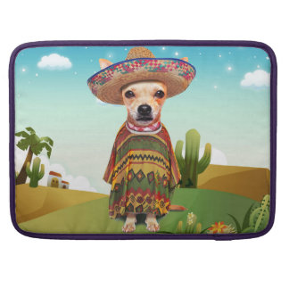 Mexican dog ,chihuahua sleeve for MacBook pro