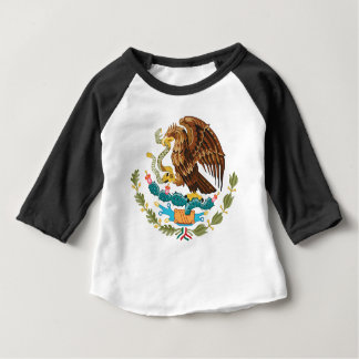 Mexican Eagle And Snake Baby T-Shirt