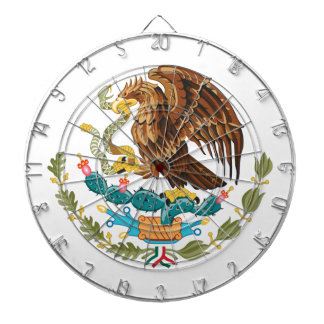 Mexican Eagle And Snake Dartboard