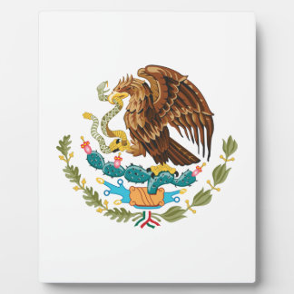 Mexican Eagle And Snake Plaque