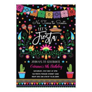 Mexican Fiesta Cinco De Mayo Birthday Party Invite db6d7ee5b841