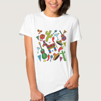 Mexican Fiesta Party Images T Shirt