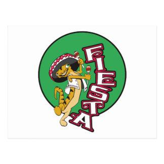Mexican Fiesta Postcard