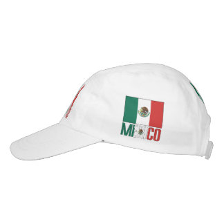 Mexican Flag and Mexico Hat