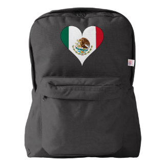 Mexican flag backpack