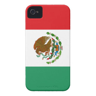 Mexican Flag Barely There iPhone 4 Case