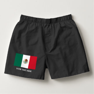 Mexican flag boxer shorts underwear for men boxers