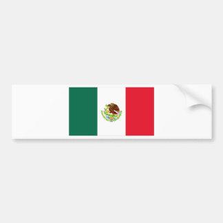 Mexican Flag Bumper Sticker