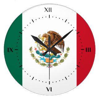 Mexican flag Clocks