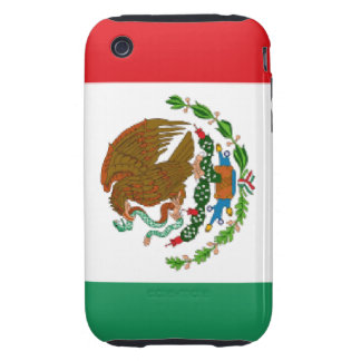 Mexican Flag iPhone 3G/3GS Case-Mate Tough Tough iPhone 3 Covers