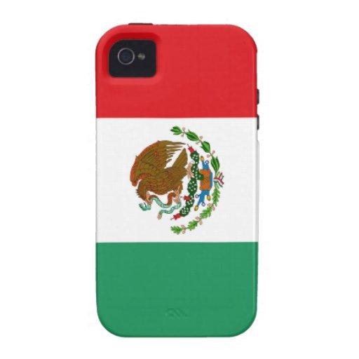 Mexican flag  iPhone 4 Case-Mate Tough™ Case