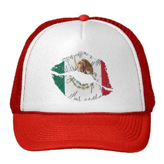 Mexican Flag Lips Cap
