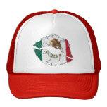 Mexican Flag Lips Mesh Hats