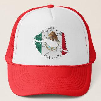 Mexican Flag Lips Trucker Hat