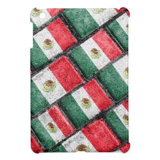 Mexican Flag Pattern Design iPad Mini Cover
