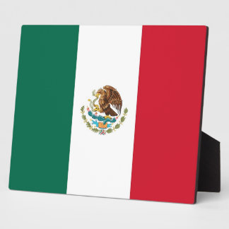 Mexican Flag Plaque